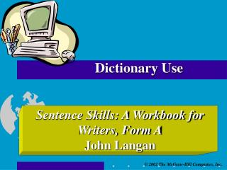 Dictionary Use
