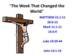 """ The Week That Changed the World """