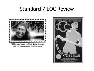 Standard 7 EOC Review