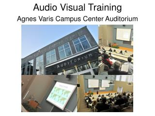 Audio Visual Training