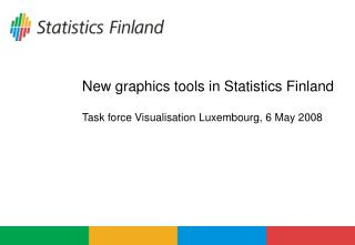 New graphics tools in Statistics Finland