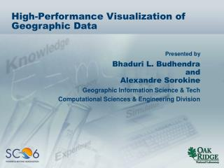 High-Performance Visualization of Geographic Data