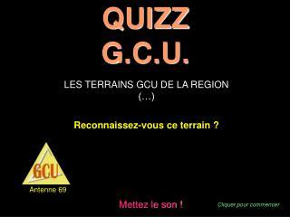 QUIZZ G.C.U.