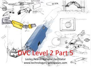 DVC Level 2 Part 5 Lesley Pearce National Facilitator technologynz.wikispaces