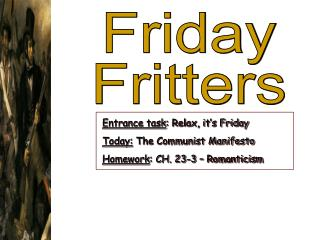 Friday Fritters