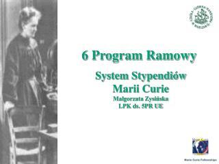 6 Program Ramowy