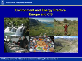 Environment and Energy Practice  Europe and CIS