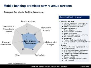 Mobile banking promises new revenue streams