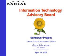 Information Technology  Advisory Board