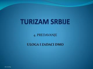 TURIZAM SRBIJE