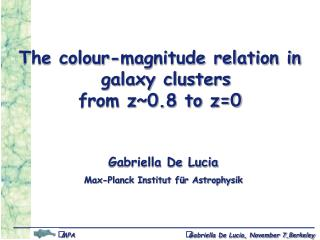 The colour-magnitude relation in galaxy clusters  from z~0.8 to z=0