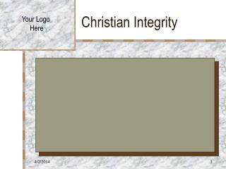 Christian Integrity