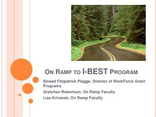 On Ramp to  I-BEST  Program