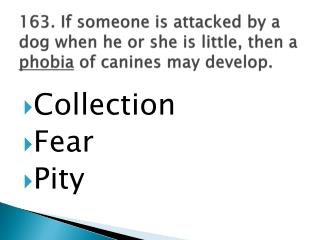 Collection Fear Pity