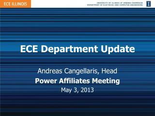 ECE Department Update