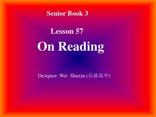 Senior Book 3