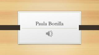 Paula Bonilla