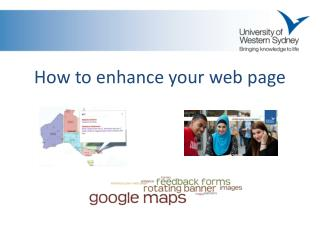 How to enhance your web  page