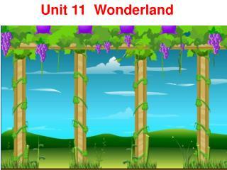 Unit 11  Wonderland