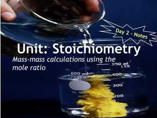 Unit: Stoichiometry