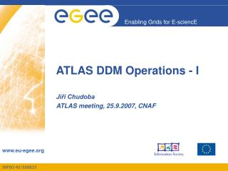 ATLAS DDM Operations - I