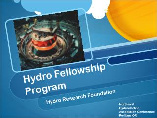 Hydro Fellowship Program