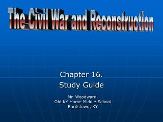 Chapter  16. Study Guide