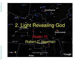 2. Light Revealing God