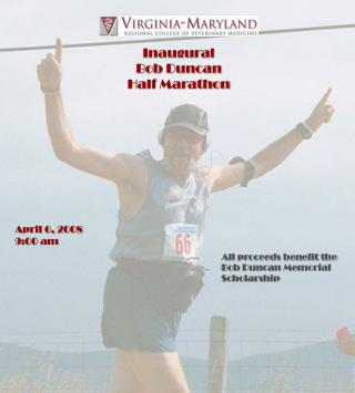 Inaugural     Bob Duncan Half Marathon