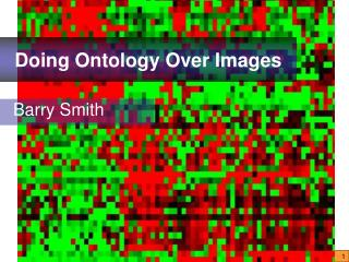 Doing Ontology Over Images