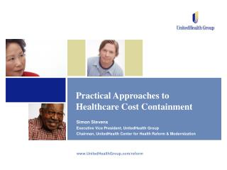 Practical Approaches to Healthcare Cost Containment