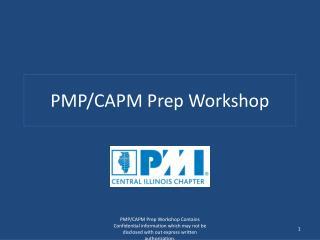 PMP/CAPM Prep Workshop