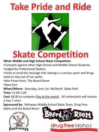 Take Pride and Ride Skate Competition