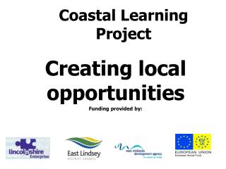 Coastal Learning Project