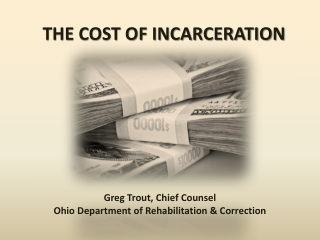 The cost of incarceration