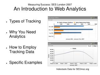 Measuring Success: SES London 2007 An Introduction to Web Analytics