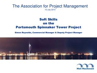 The Association for Project Management 15 July 2010
