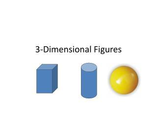 3-Dimensional Figures