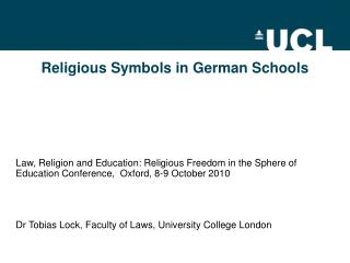 Religious Symbols in German Schools
