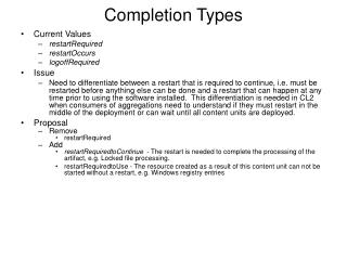 Completion Types