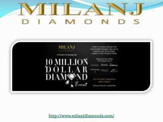 Milanj Diamonds Preaents Side Stones Fashion Rings