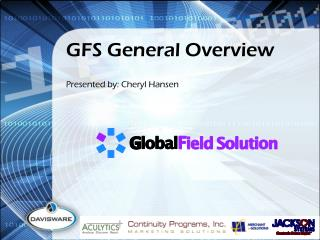 GFS General Overview