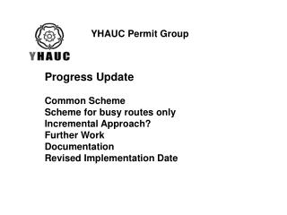 YHAUC Permit Group