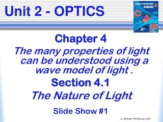 Unit 2 - OPTICS