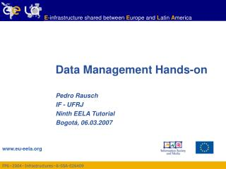 Data Management Hands-on