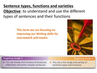 Sentence types, functions and varieties