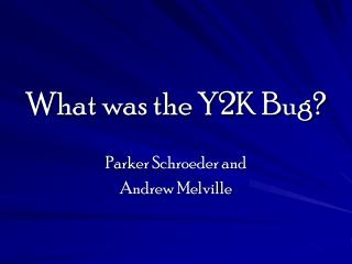 y2k bug is it a scam The global millennium scam bug scam bug as the world prepares for the y2k supposed disaster of global communications, health care malfunctions, and various transport system glitches, one can only be a little skeptical of the whole situation presented by our government and ones abroad.