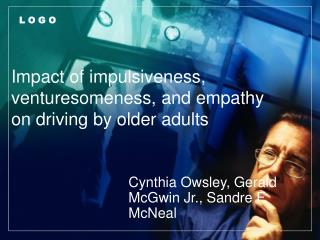 Impact of impulsiveness, venturesomeness, and empathy on driving by older adults
