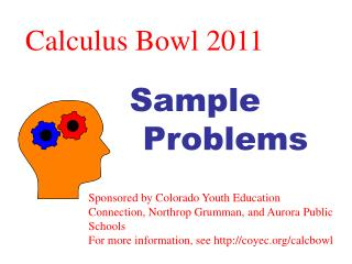 Calculus Bowl 2011