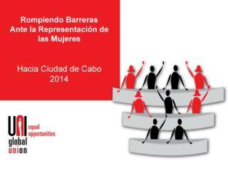 Haber logrado una representación del 40% de mujeres en todos los órganos decisorios de UNI.